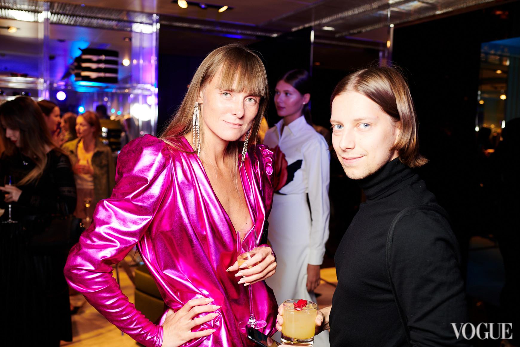 Юлия Хромцова и Антон Еременко