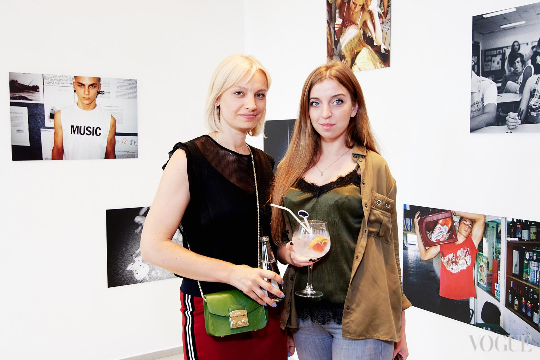 Татьяна Филипович и Дарья Леонова