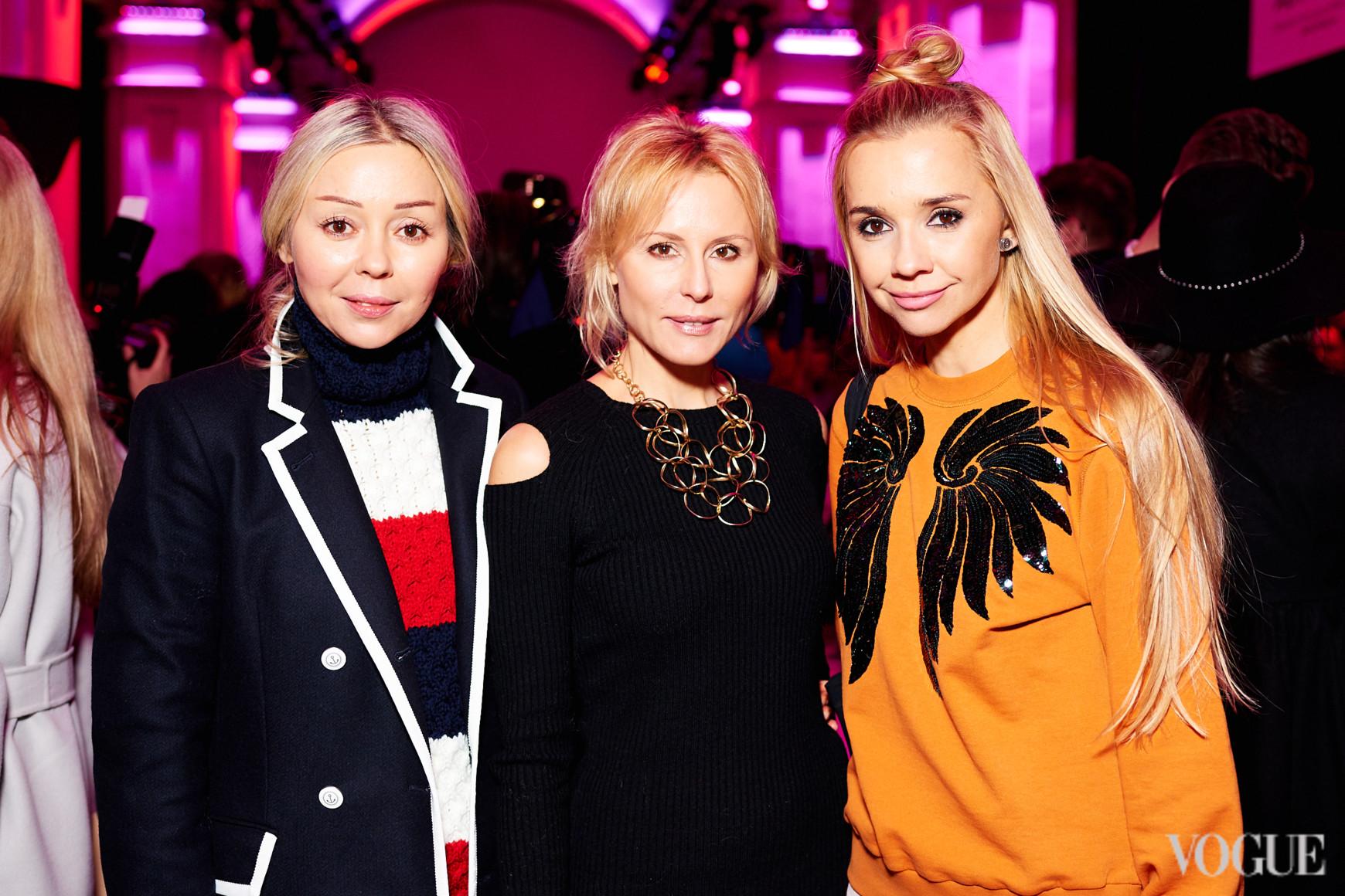 Оксана Берг, Елена Примак и Ирина Турбаевская