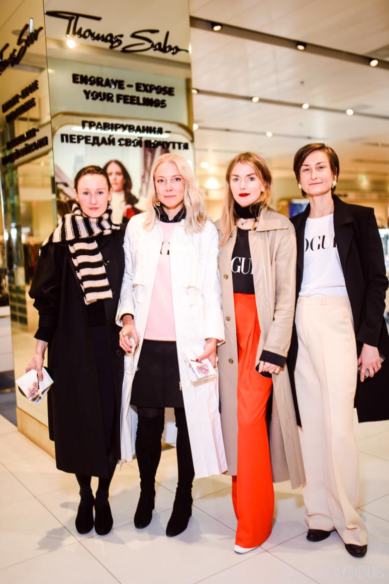 Василина Врублевская, Ирина Каравай, Лиля Литковская и Татьяна Соловей