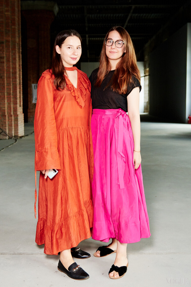 Виолетта Федорова и Мария Жданова
