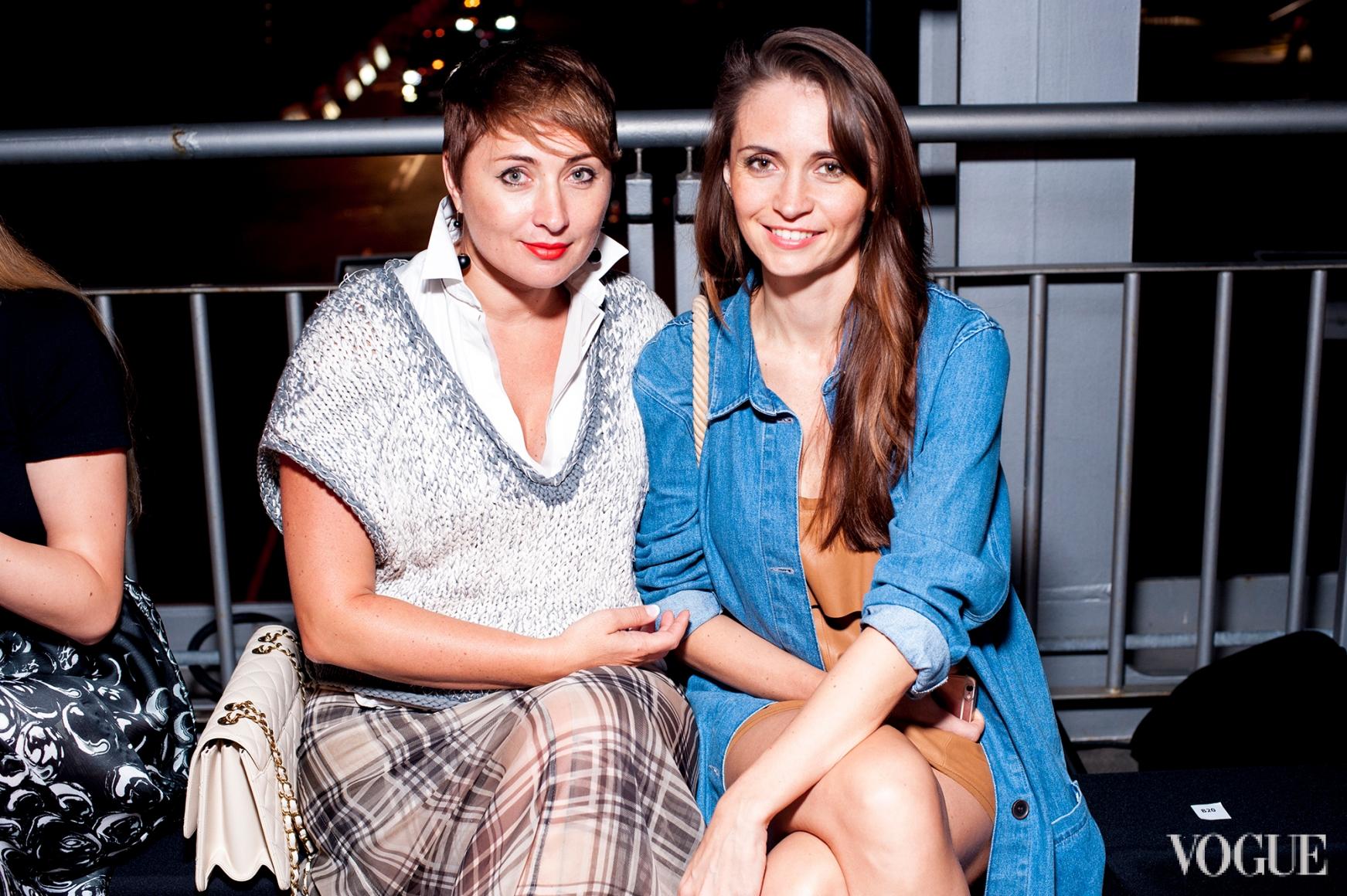 Виктория Тигипко (слева)