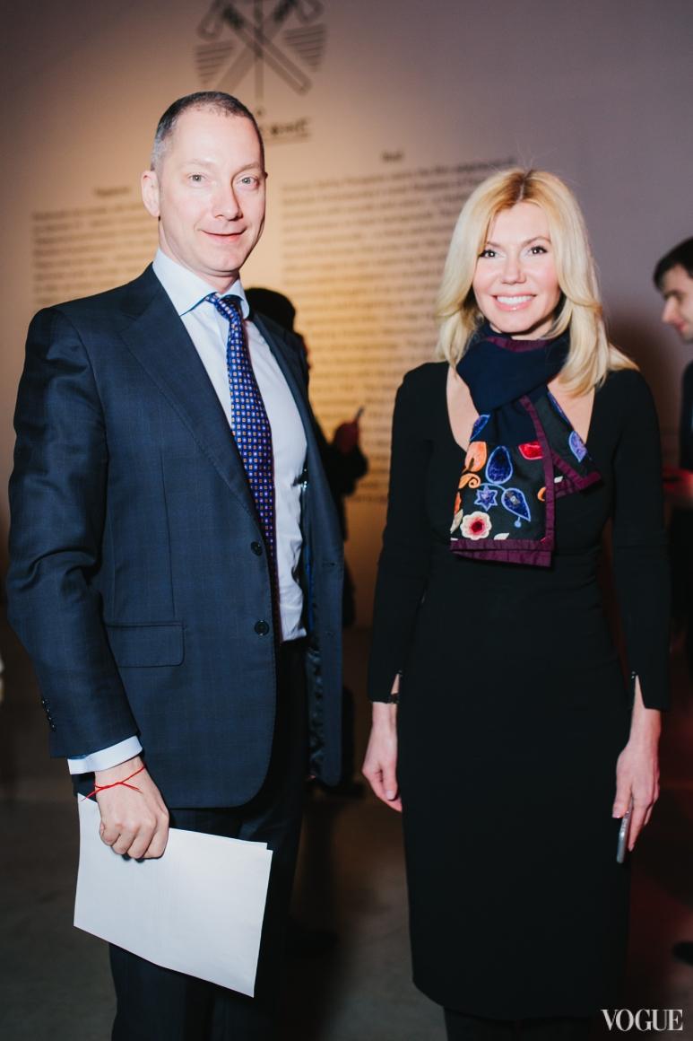 Борис Ложкин и Наталья Заболотная