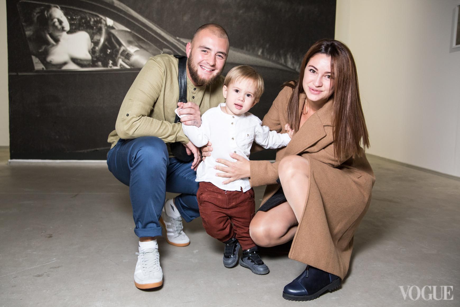 Сергей Мельниченко с семьей