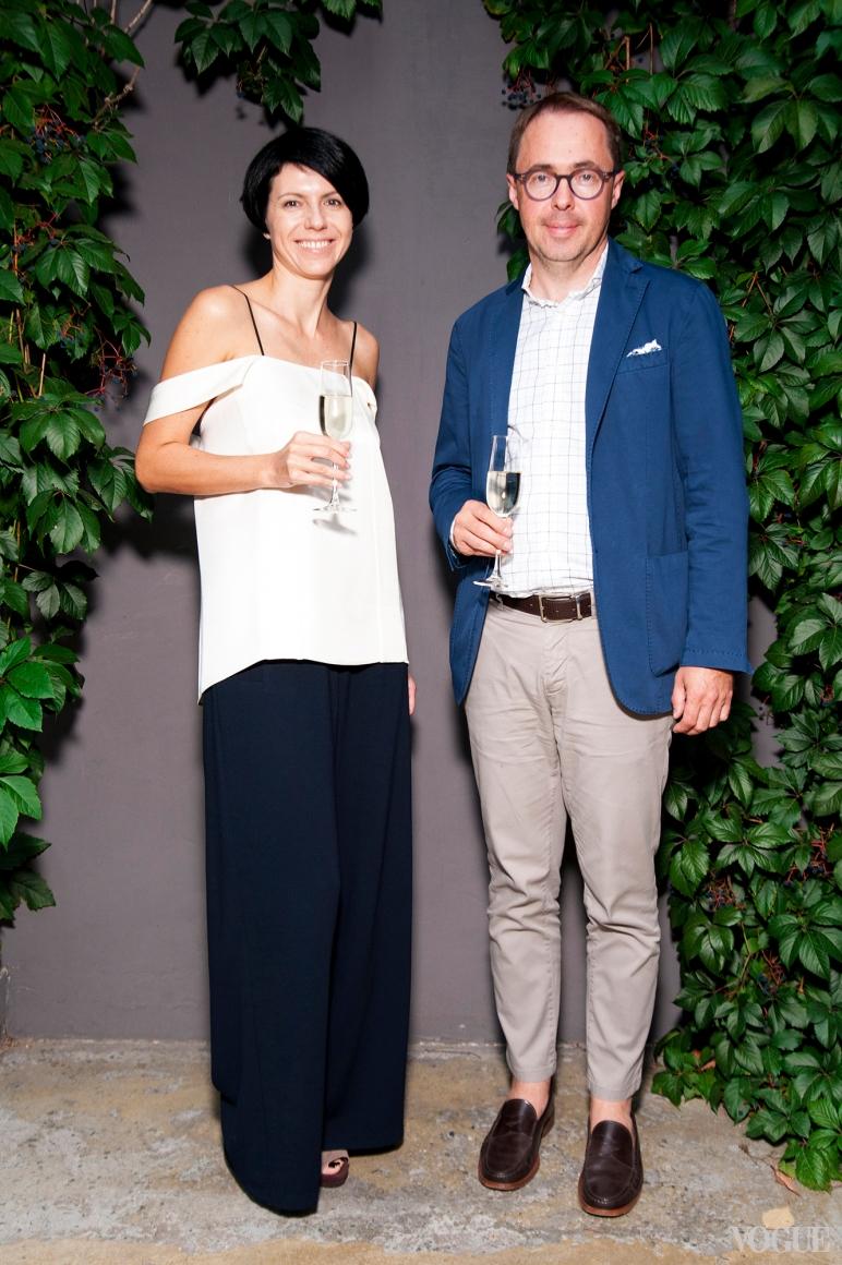 Марина Щербенко и Александр Баринов