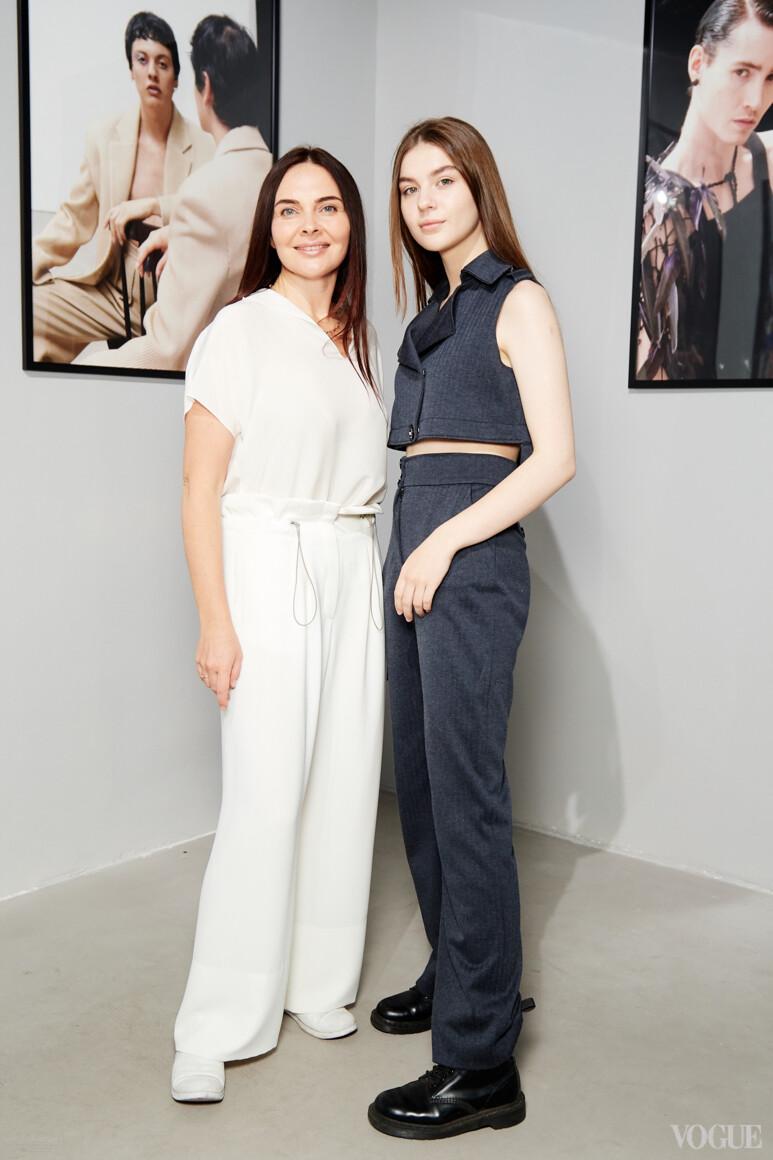 Екатерина Малкова с дочерью Софией