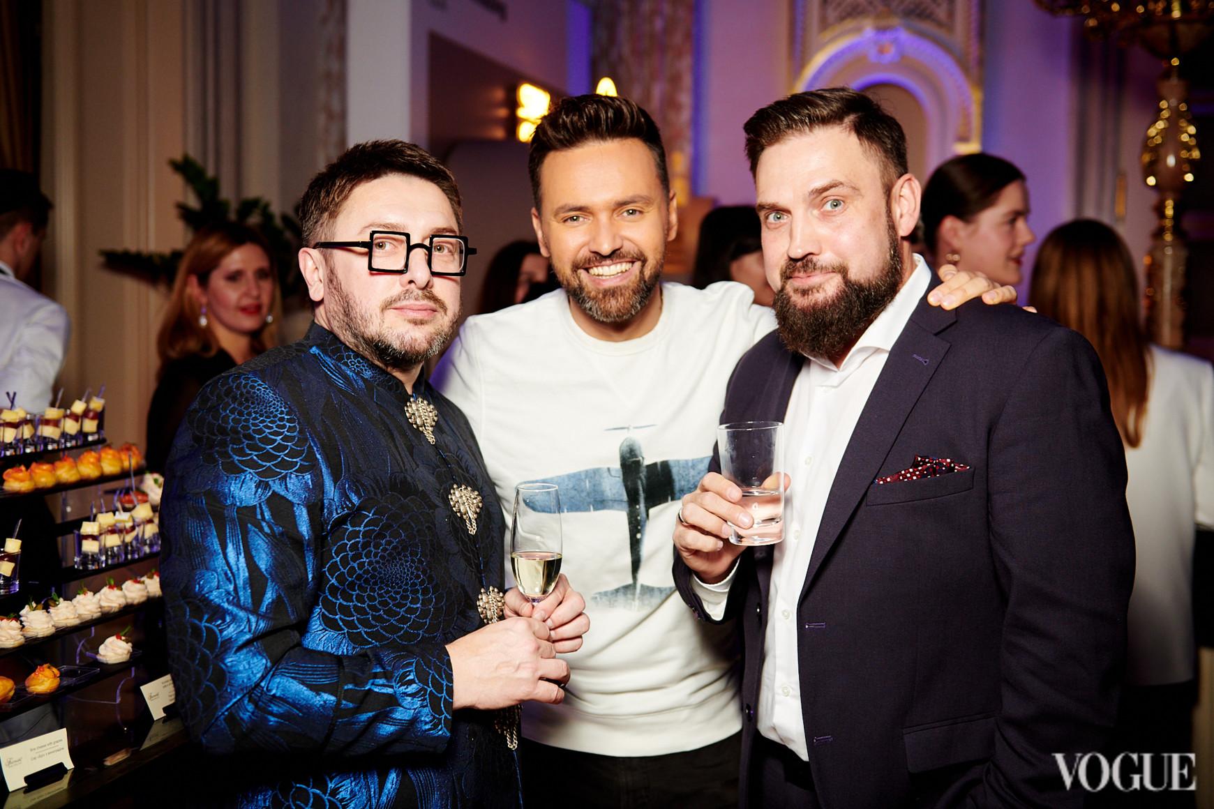Алексей Голованов, Тимур Мирошниченко и Григорий Герман
