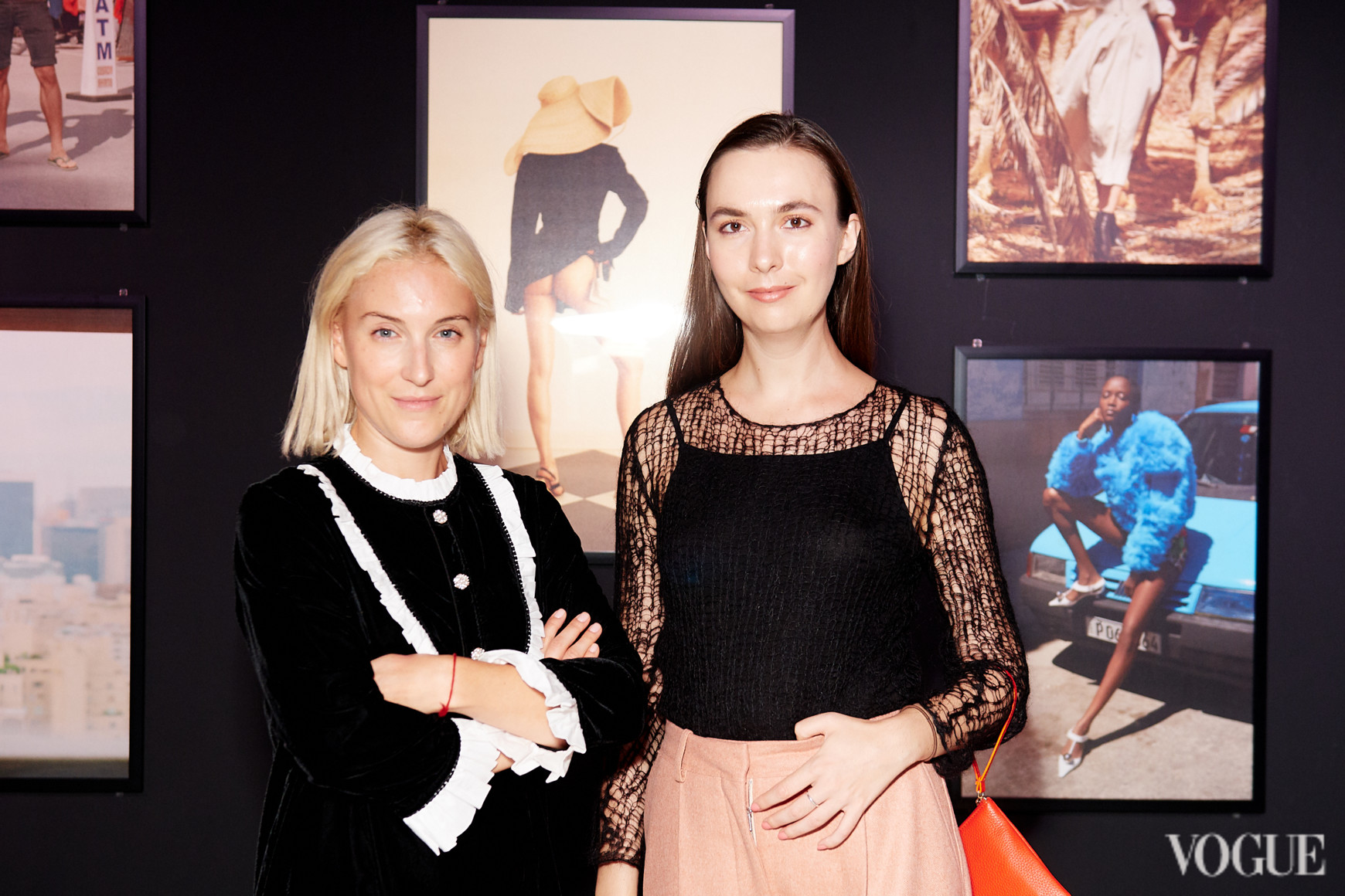 Ксения Путилина и Кристина Обломская