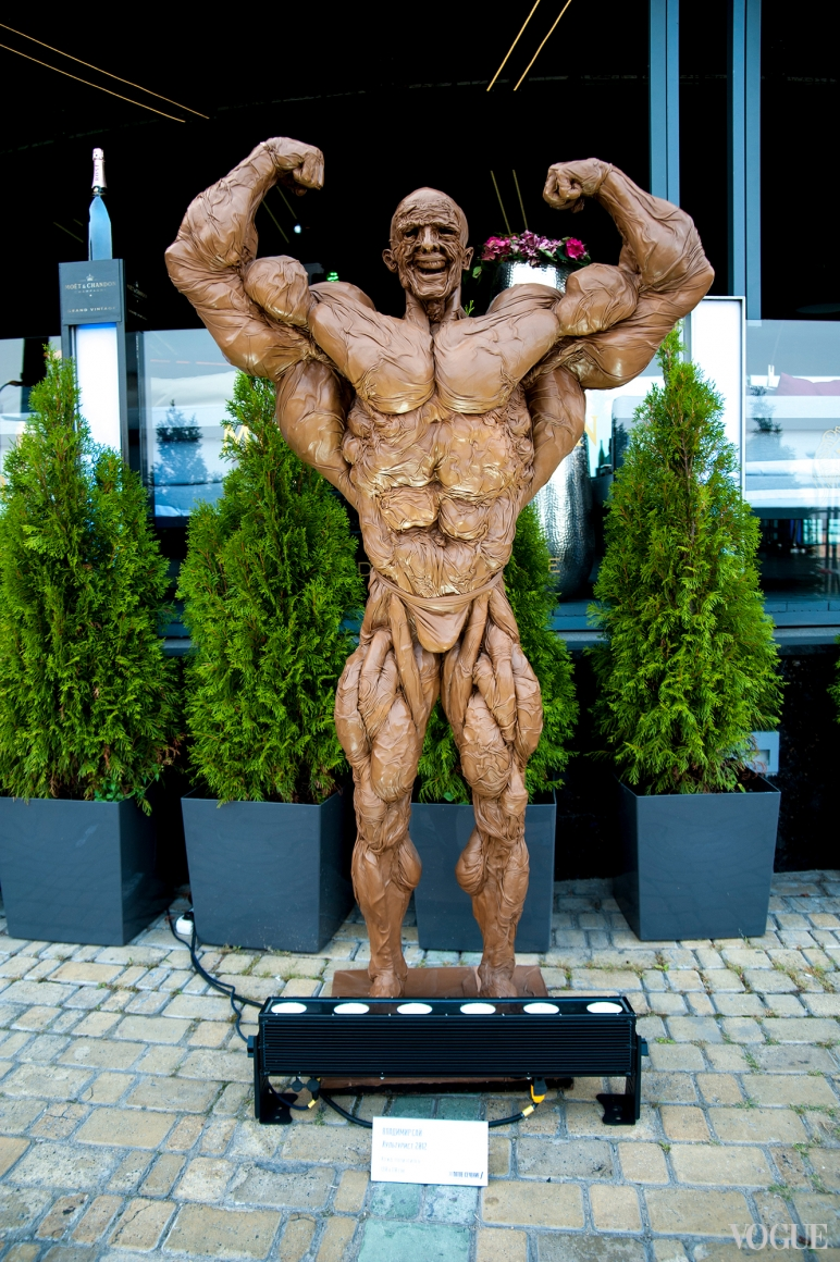 Скульптура культуриста, Владимир Сай