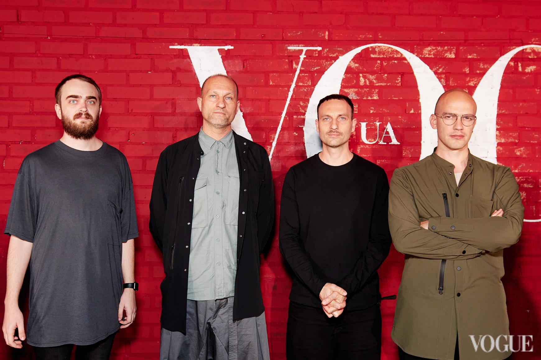 Андрей Горлов, Александр Стеколенко, Игорь Стеколенко и Сергей Моргунов