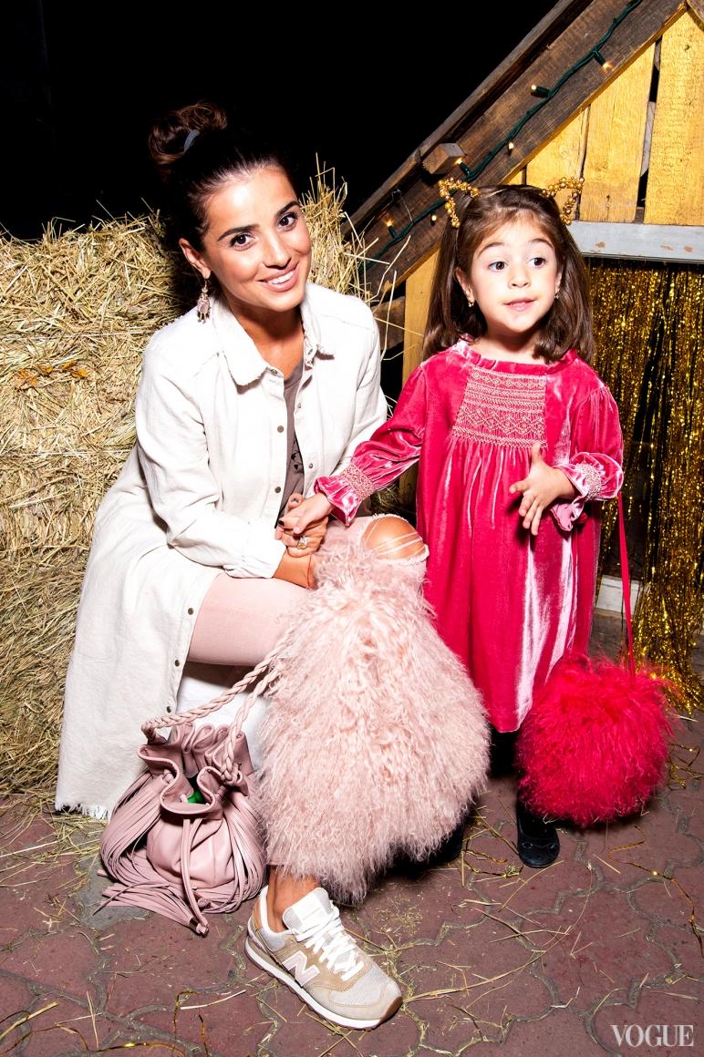 Фаина Тадеева с дочкой