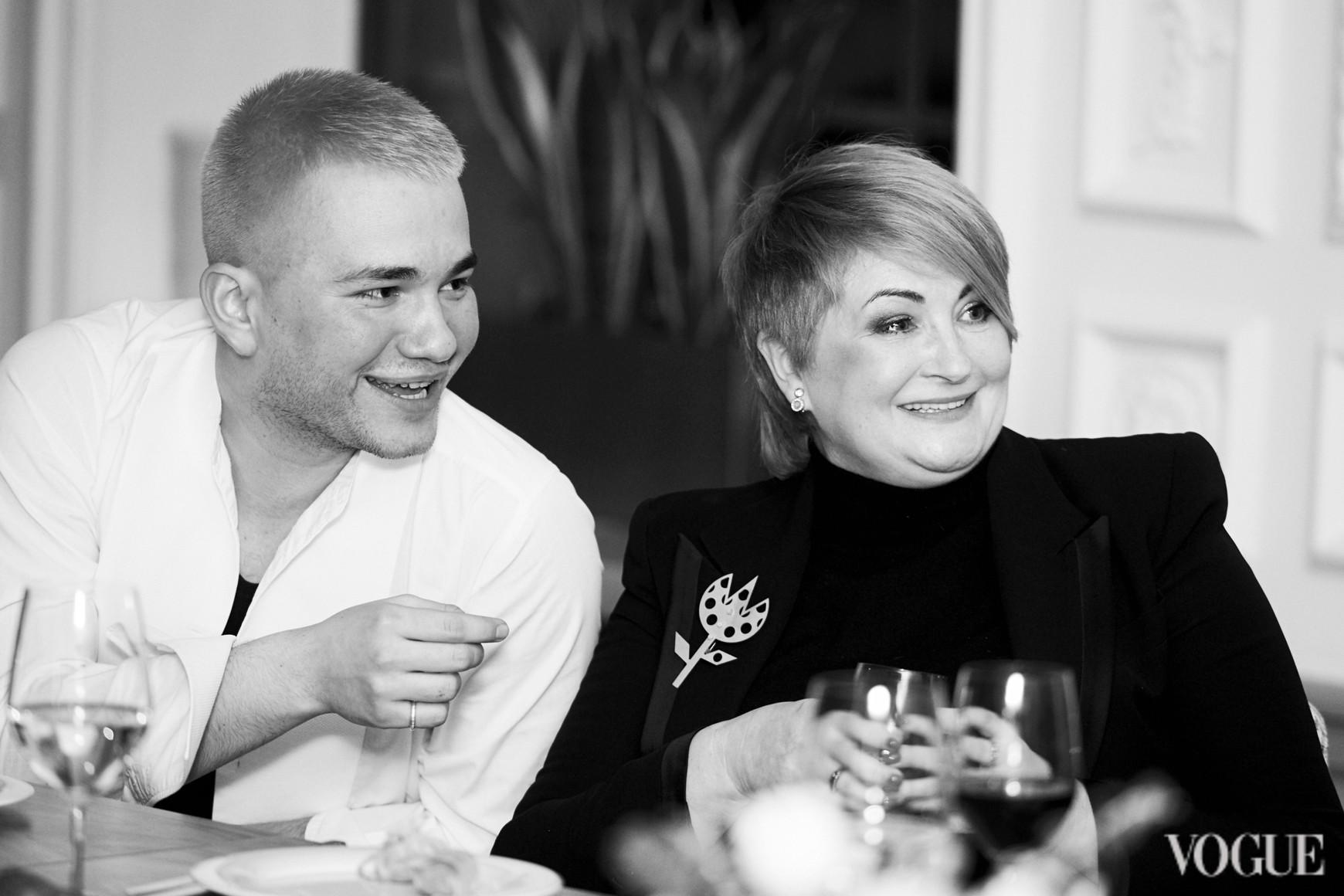 Иван Фролов и Ирина Данилевская