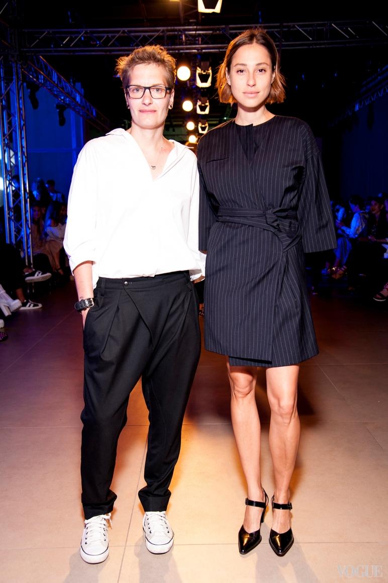Надежда Пожарская и Наталья Каменская