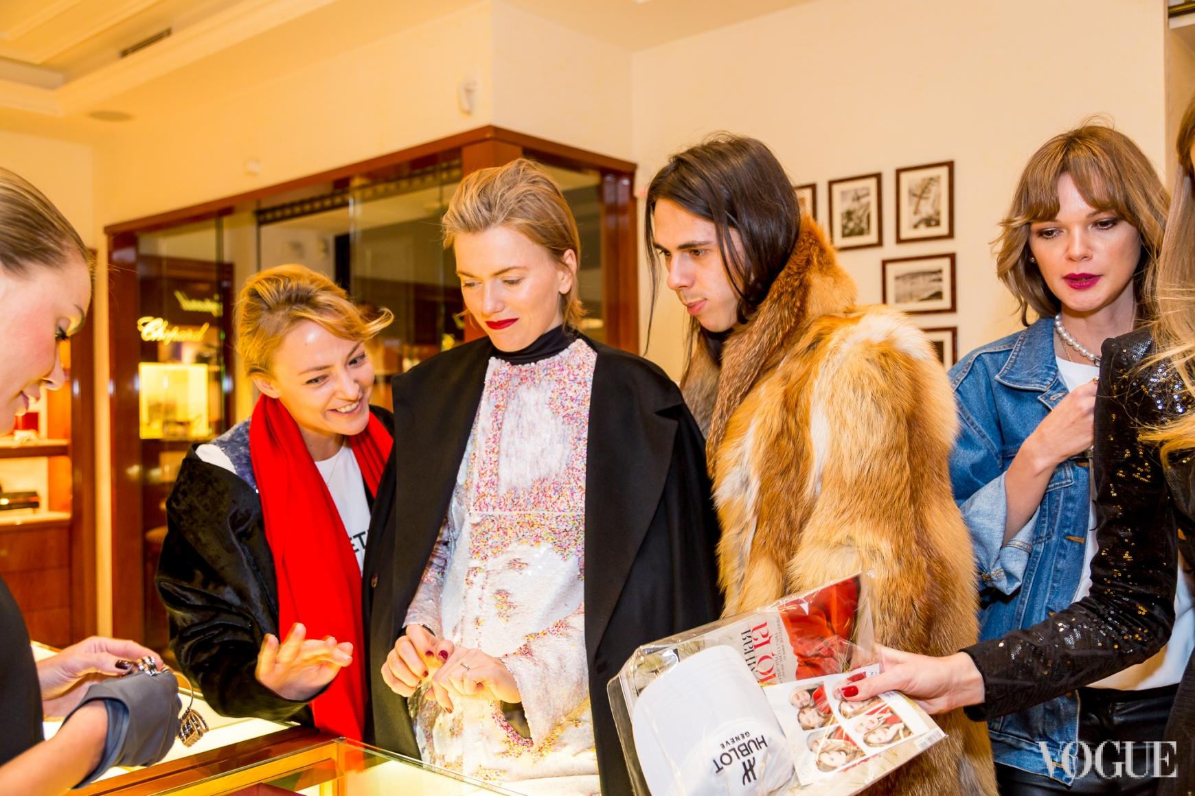 Маша Бех, Лиля Литковская, Жан Грицфельдт и Анастасия Масюткина