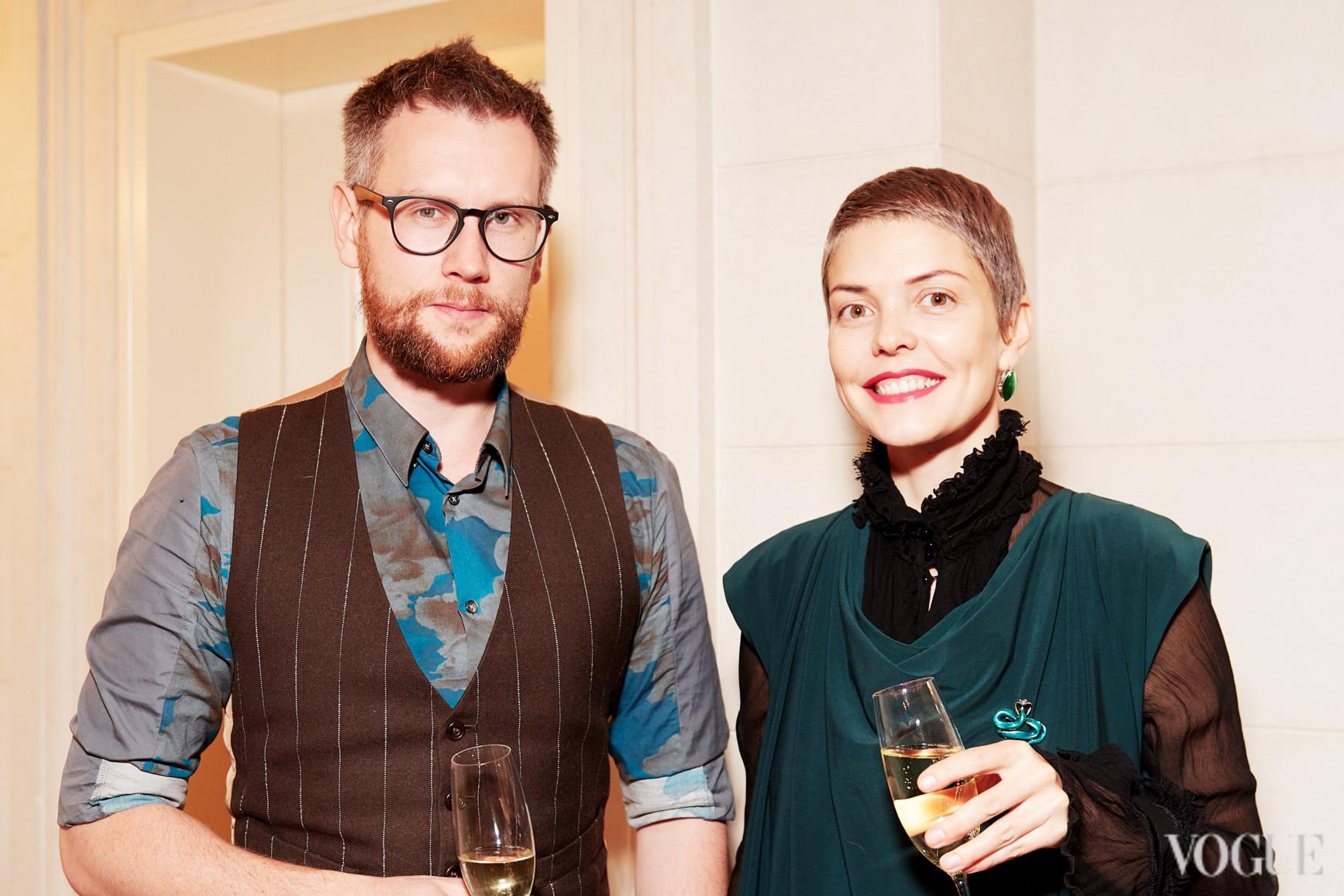 Юрий Марченко и Катя Тейлор