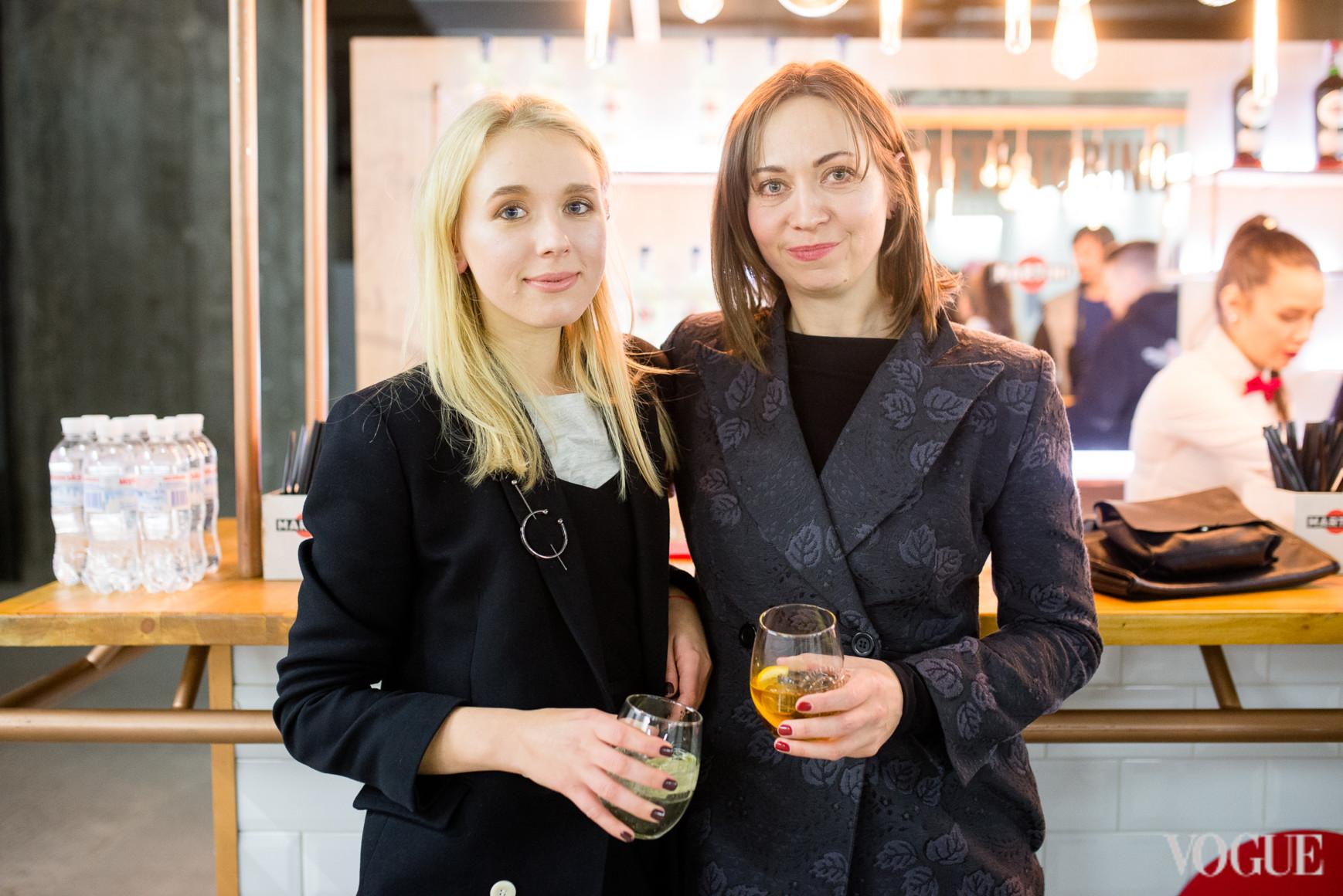 Мария Гаврилюк и Олеся Кононова