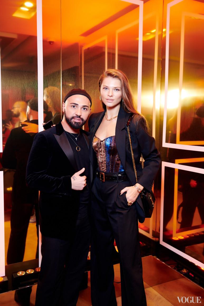 Бичолла Тетрадзе и Юлиана Дементьева