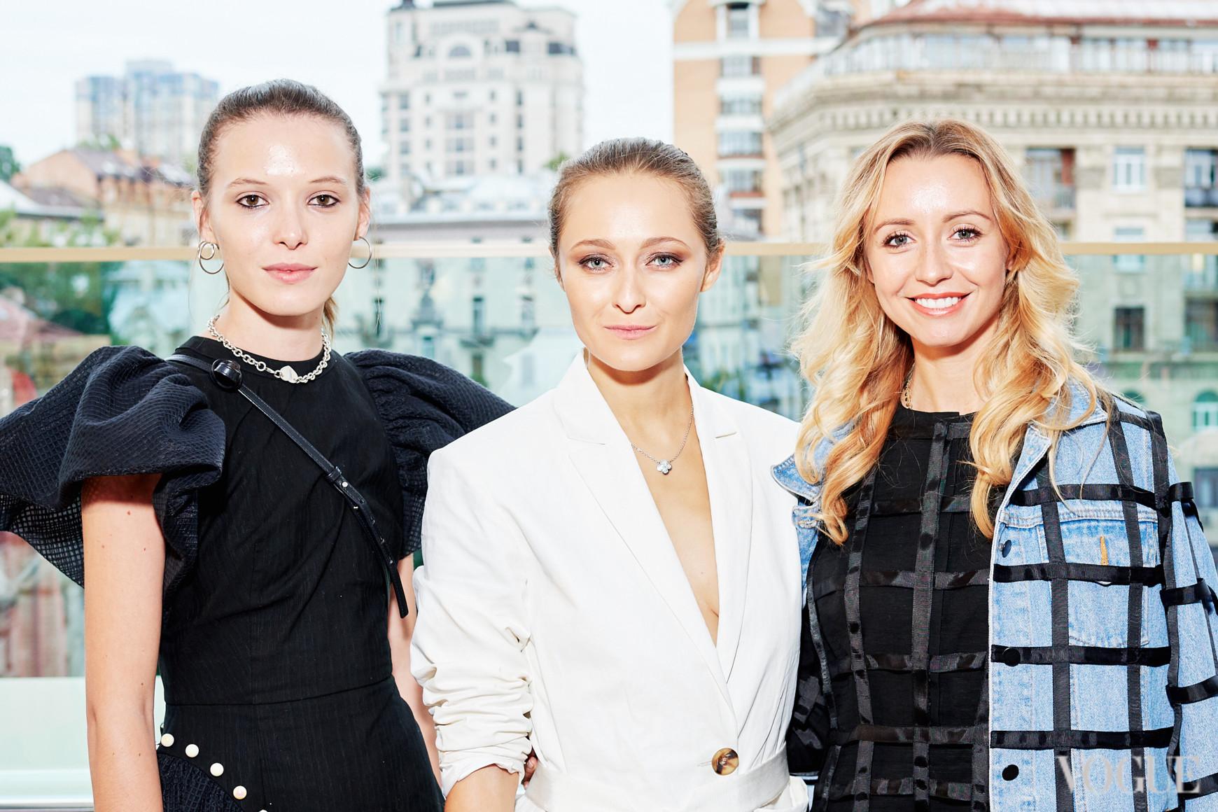 Анна К, Дарья Шаповалова и Наталья Осман