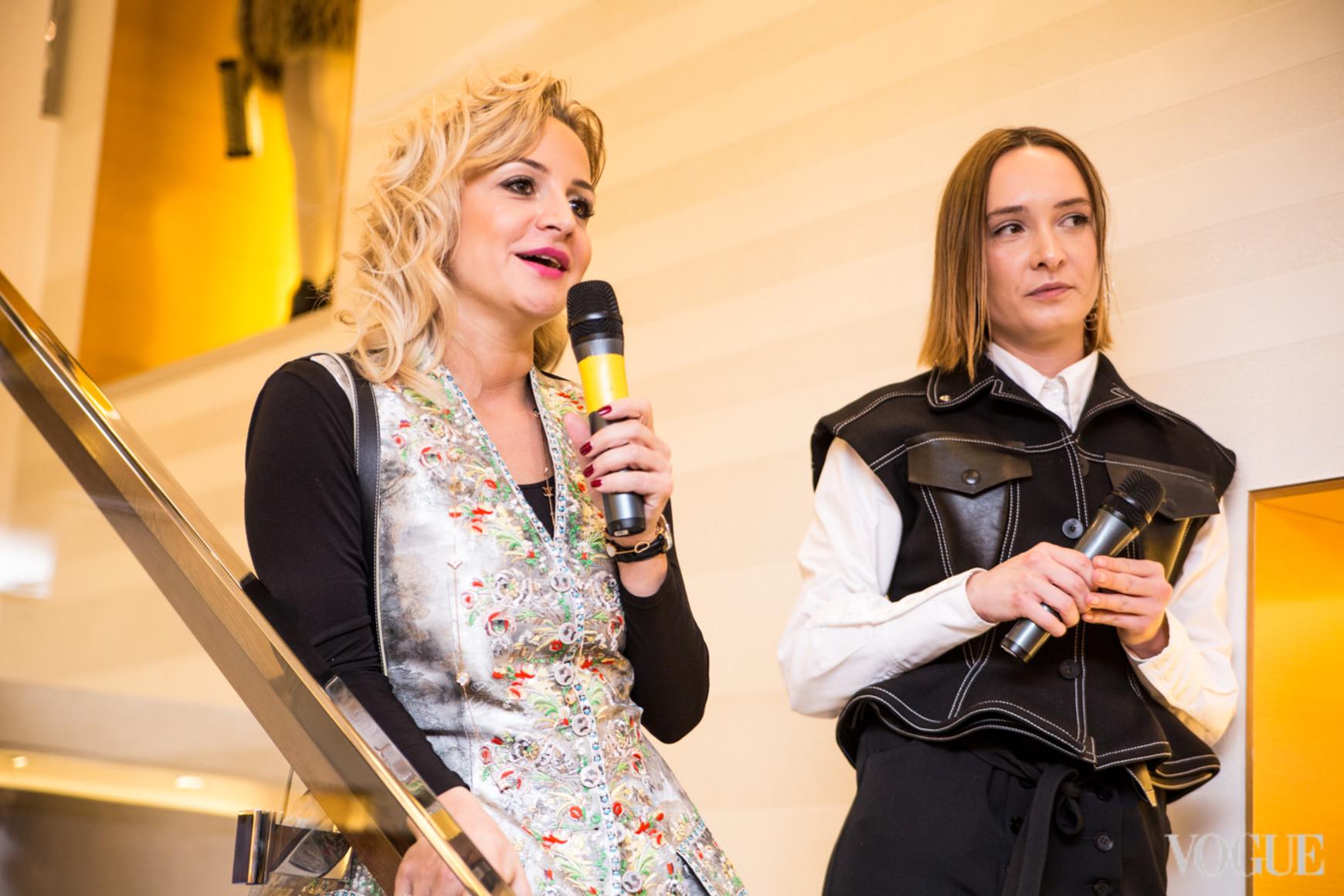 Евгения Лешкова и Ольга Сушко