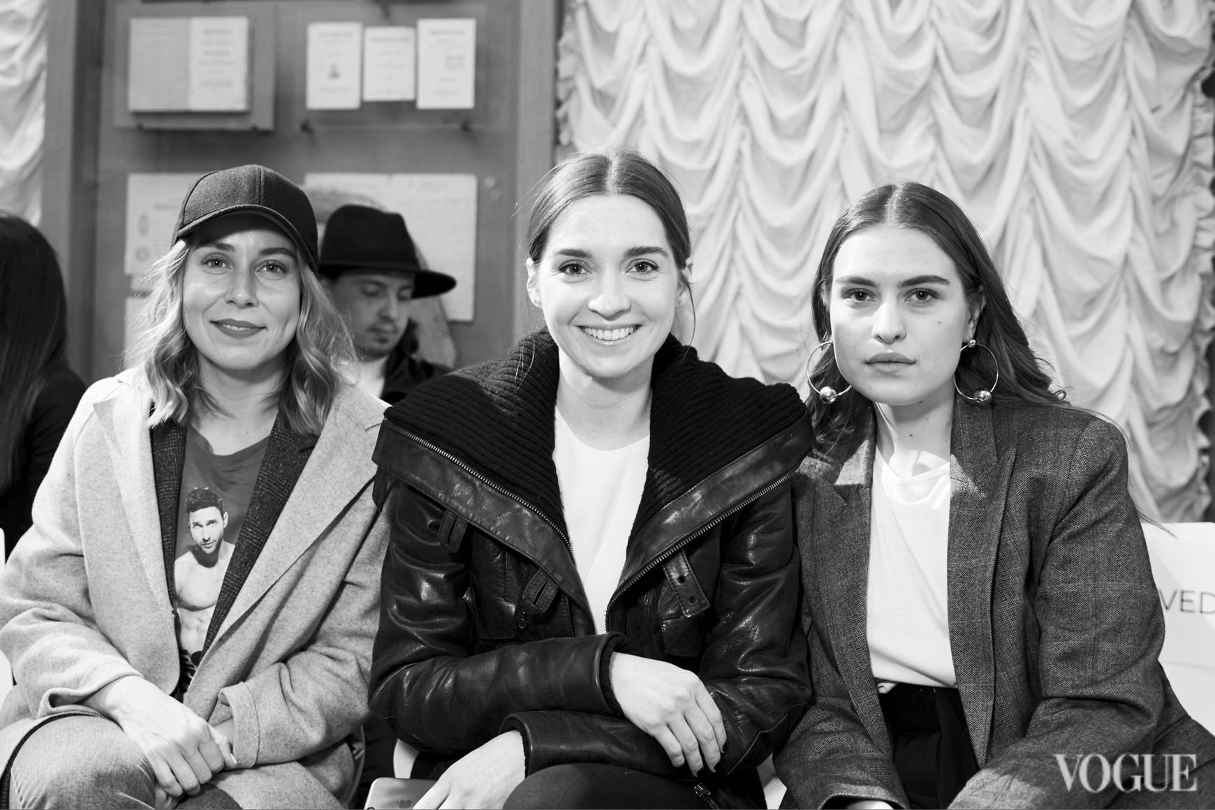 Александра Бородина, Елена Пащенко и Евгения Скибина
