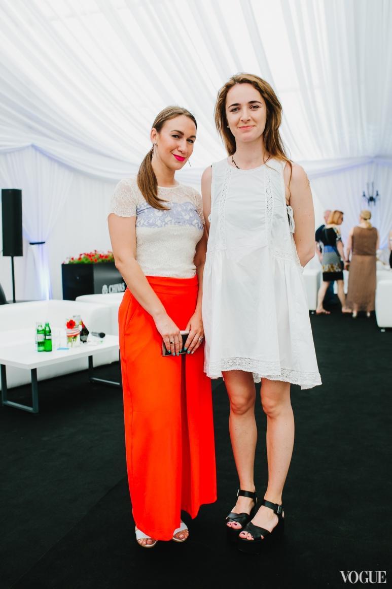 Дарья Слободяник и Ксения Шагова