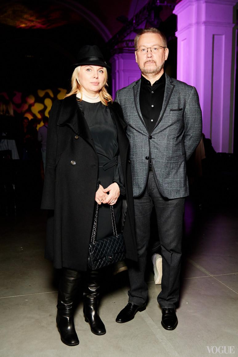 Світлана Тімохова з чоловіком