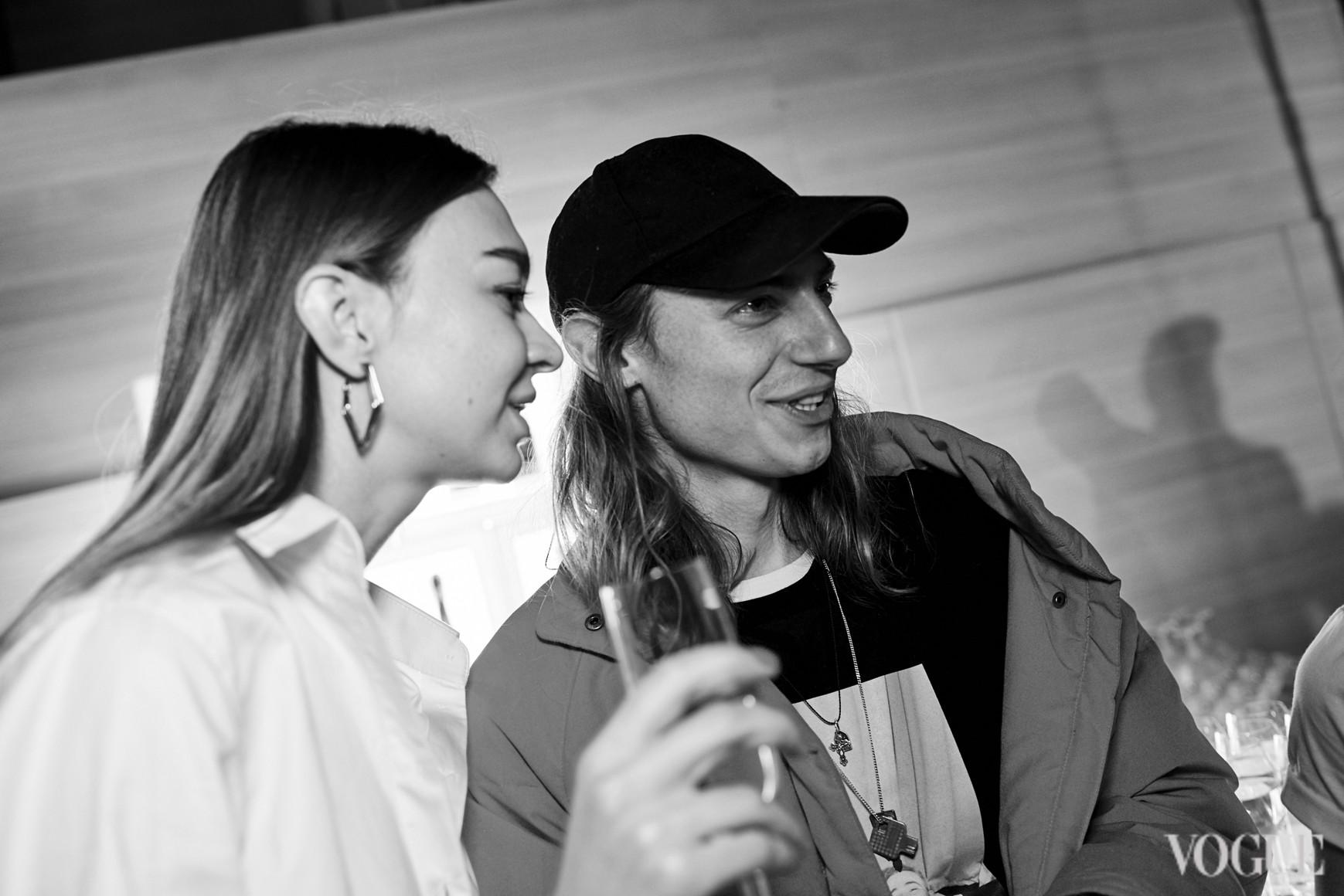 Анна Зосимова и Никита Середа