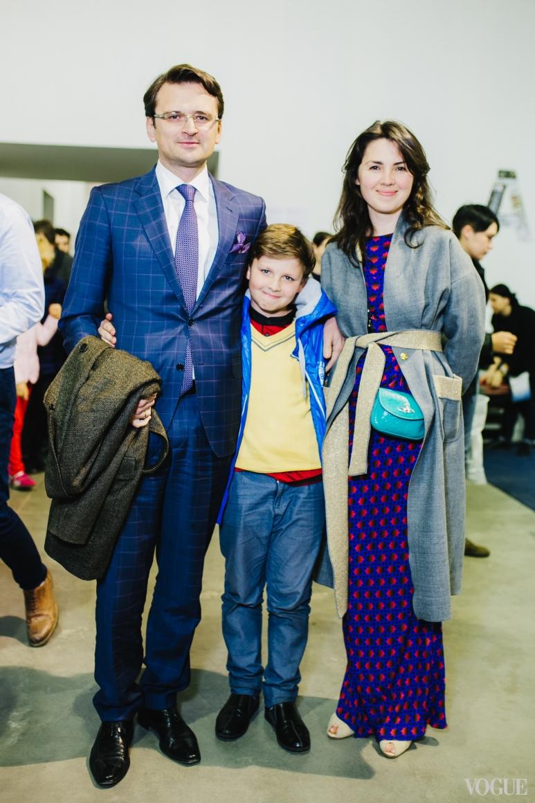 Дмитрий Кулеба с семьей