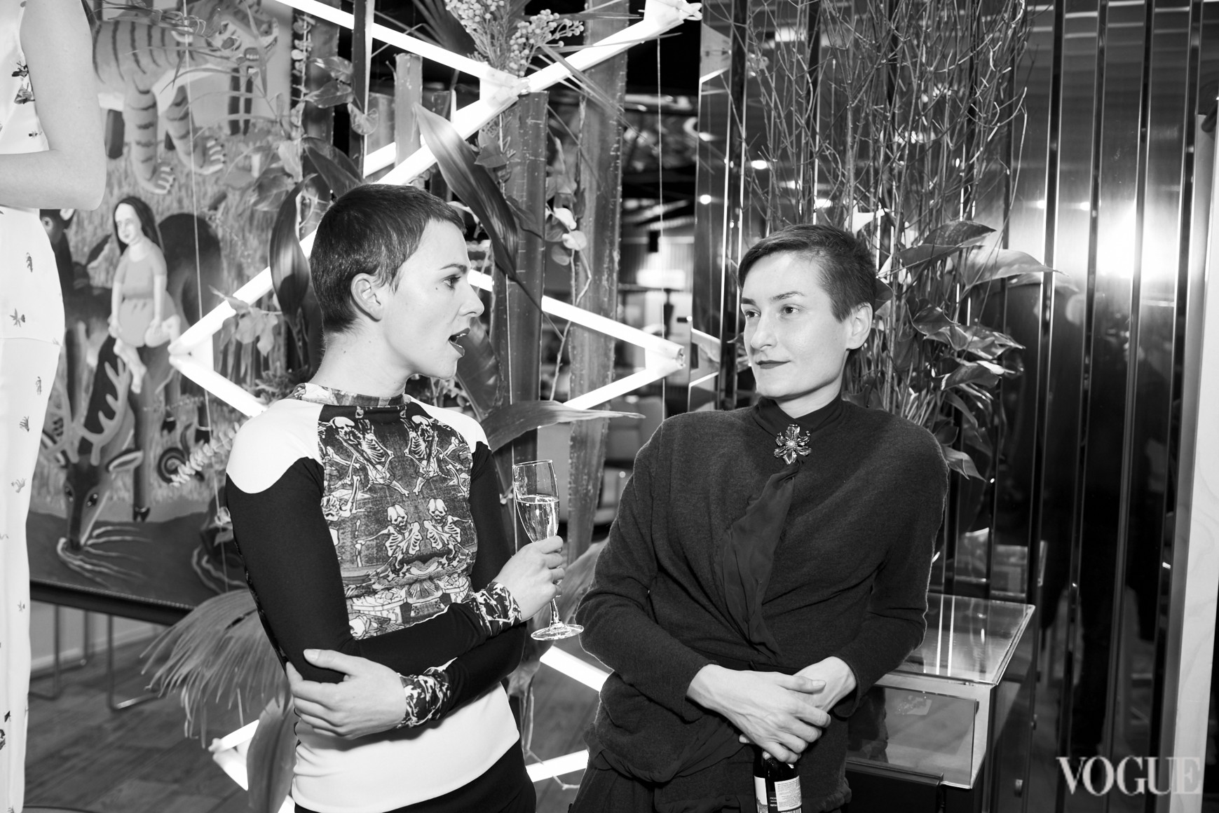 Катя Березницкая  и Татьяна Соловей