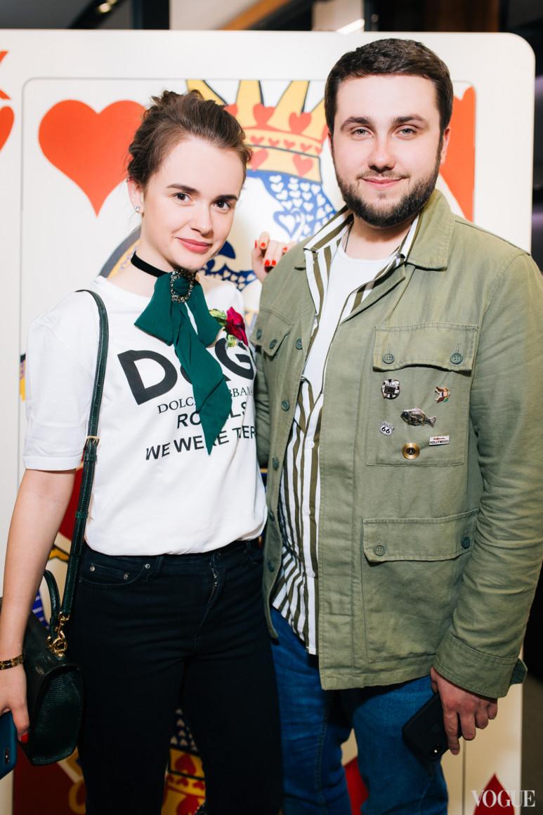 Стефанія Гордієнко і Дмитро Глущак