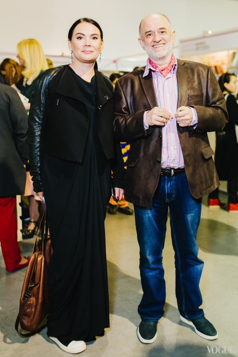 Александр Ройтбурд с женой