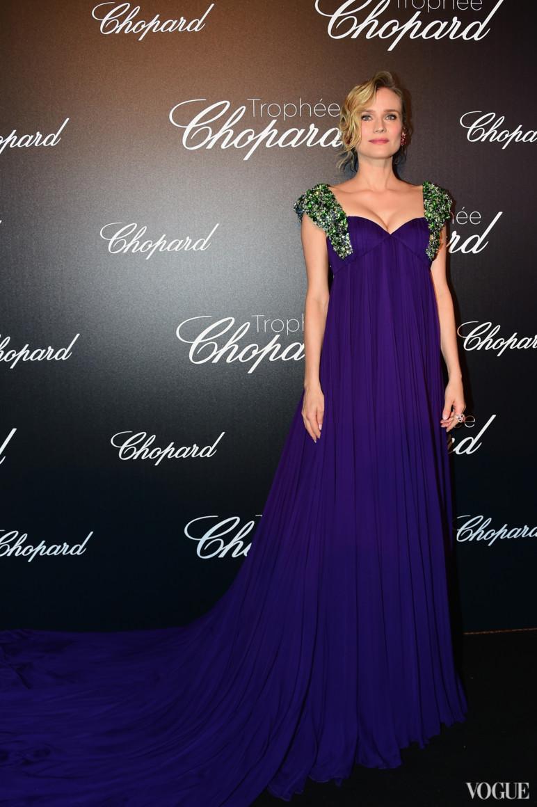Диана Крюгер в платье Prada и украшениях Chopard