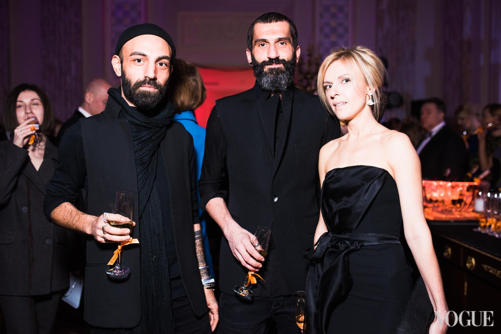 Лаша Мдинарадзе, Валерий Топал и Юлия Костецкая