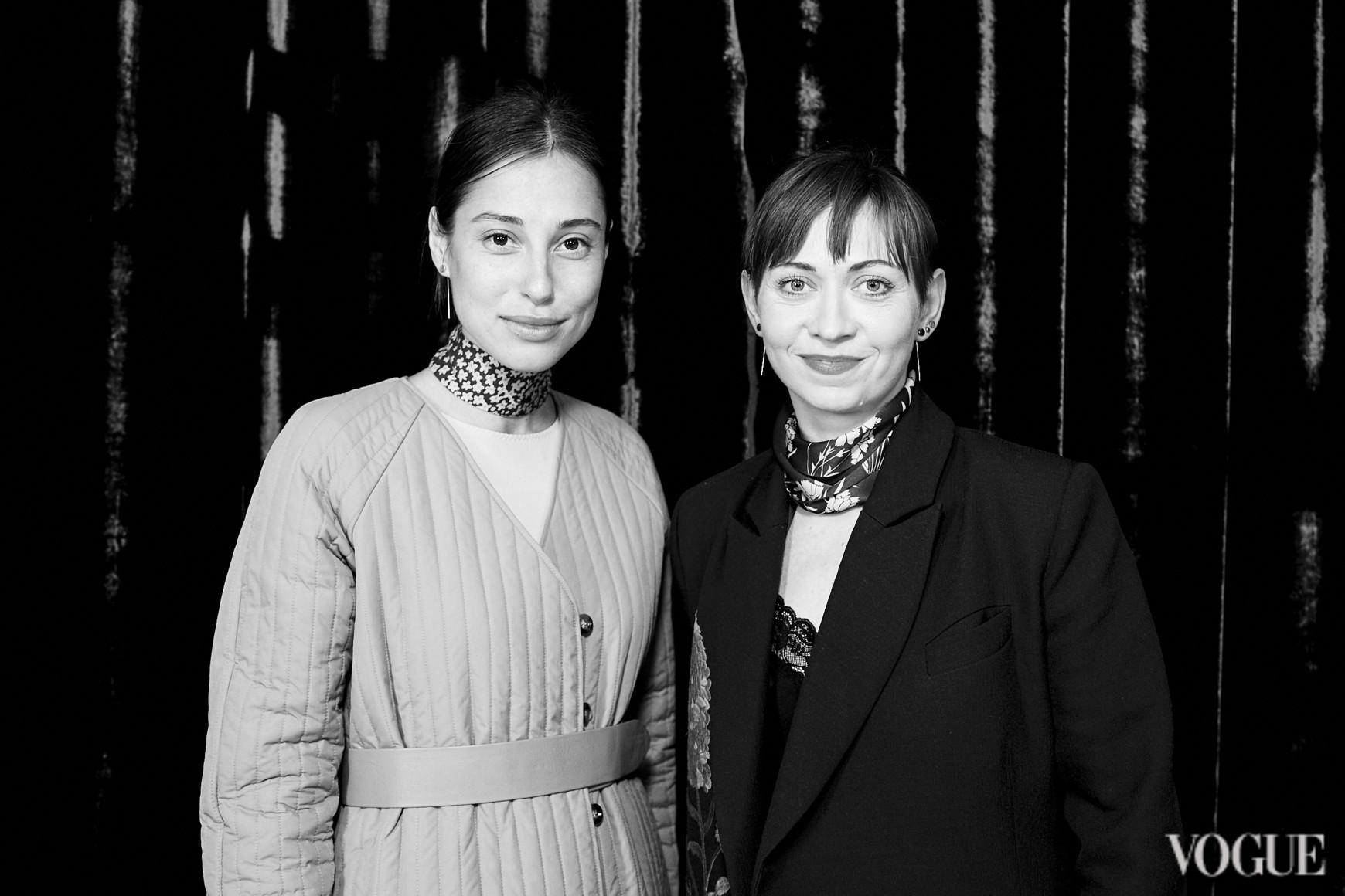 Наталья Каменская и Олеся Кононова