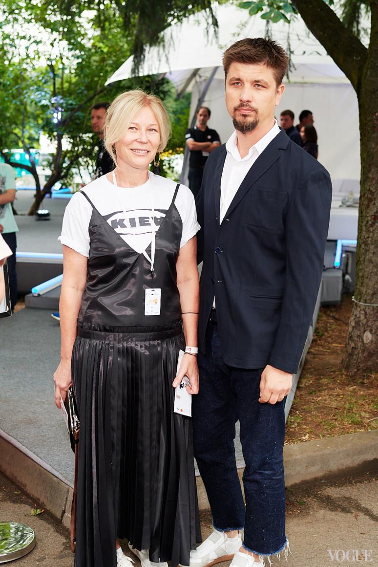 Лилия Пустовит и Игорь Кириков