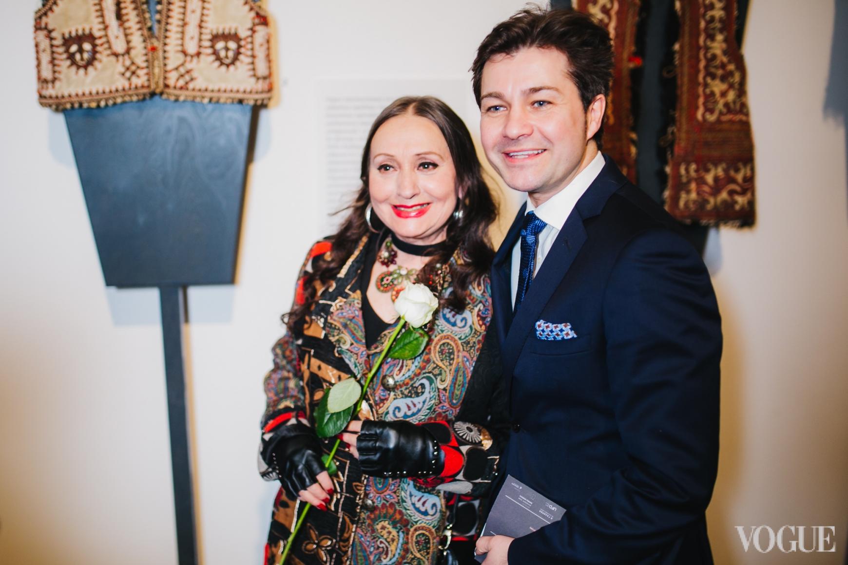 Лариса Кадочникова и Евгений Нищук
