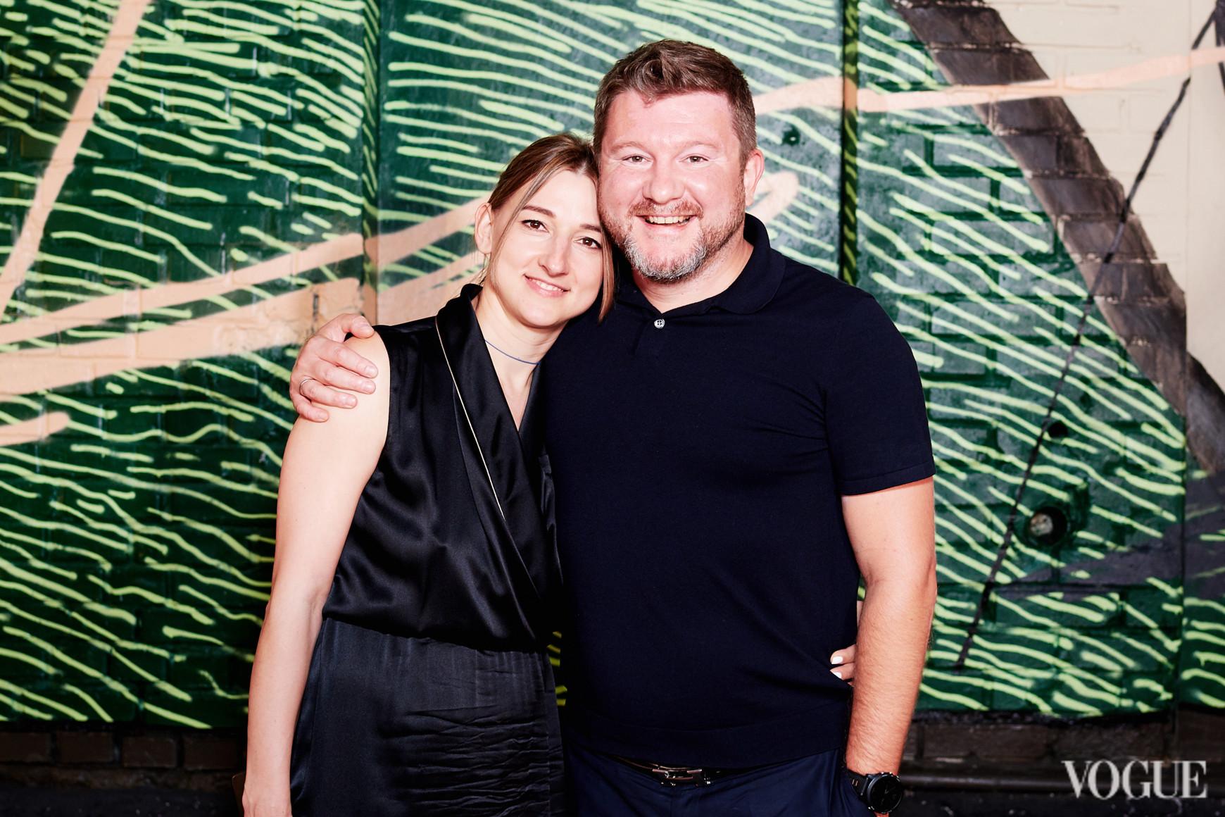 Елена Сапунова и Дмитрий Борисов