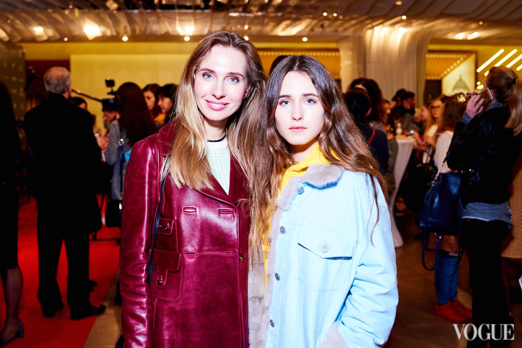 Наталья Череп с дочерью