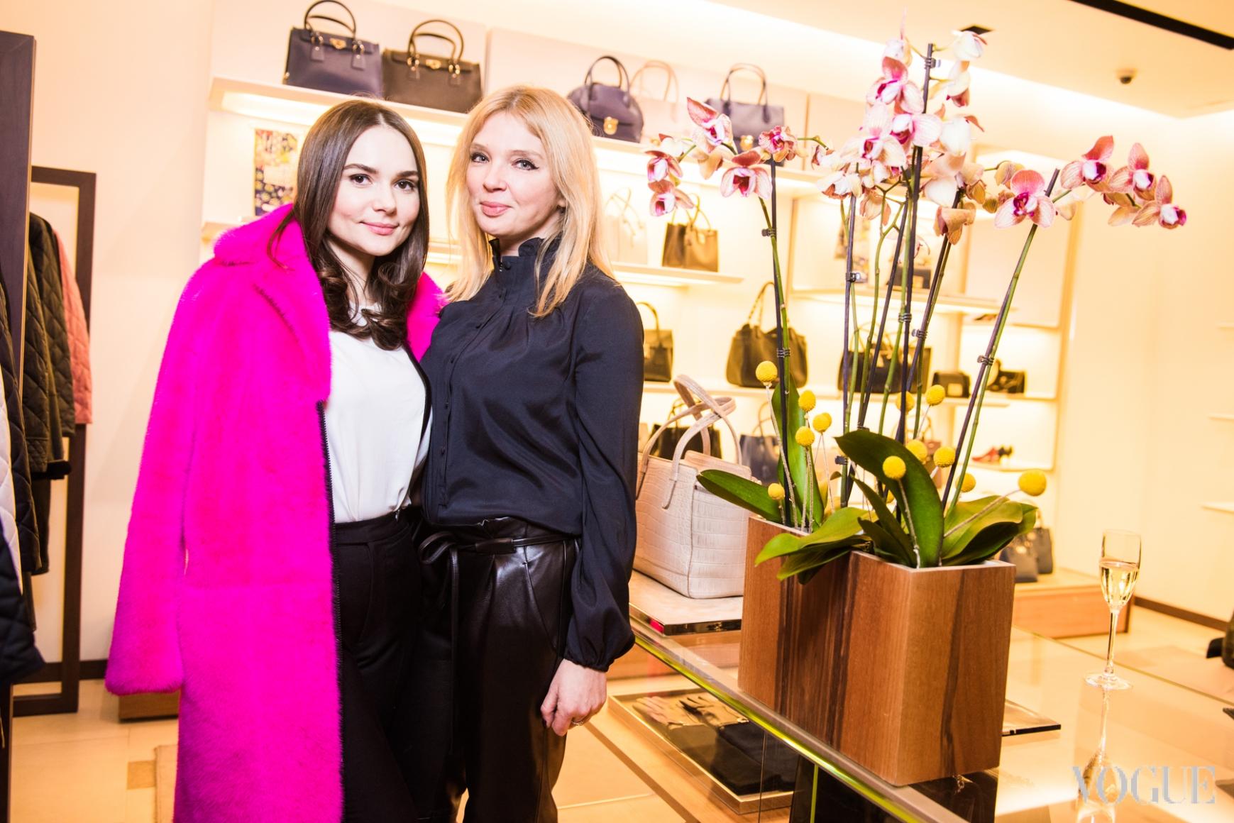 Алена Лавренюк и Ольга Навроцкая