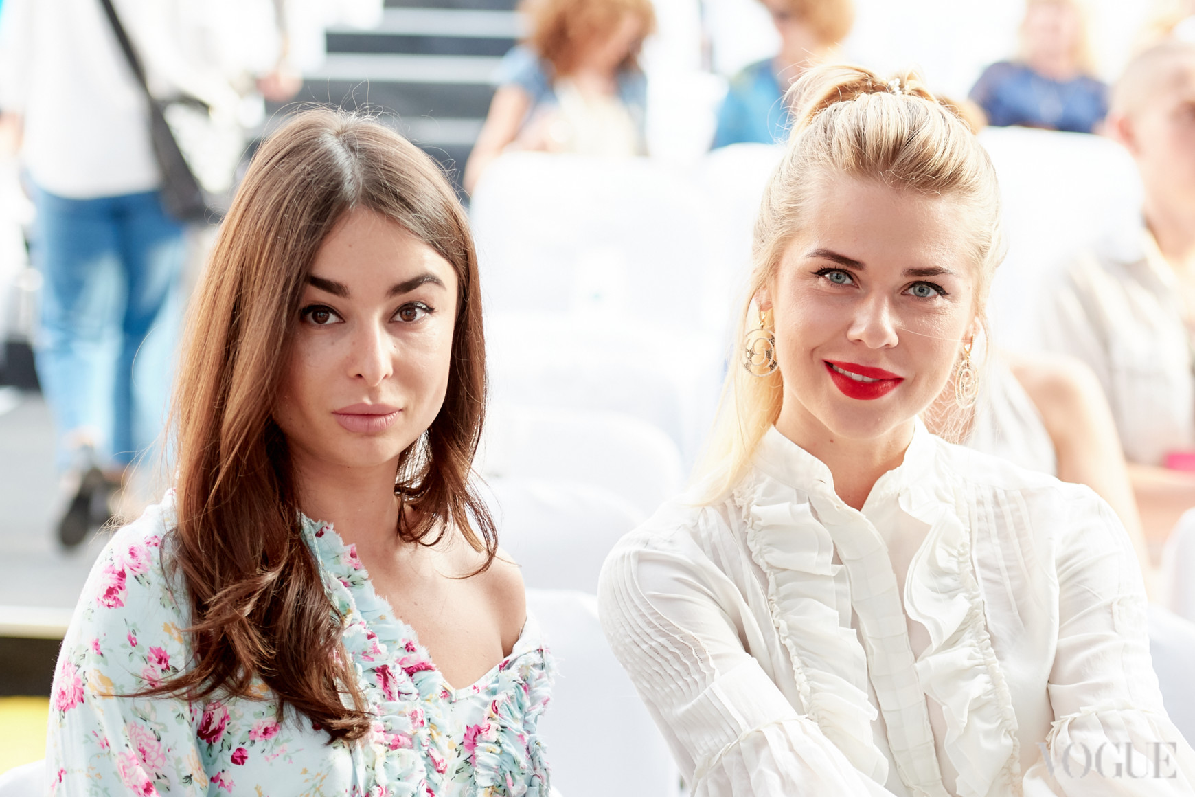 Ирина Пожарская и Анасатсия Сличная