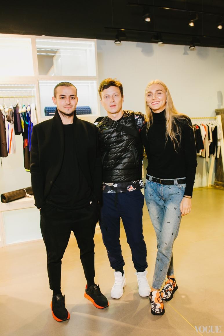 Али Саулиди, Антон Шнайдер и Ксения Шнайдер