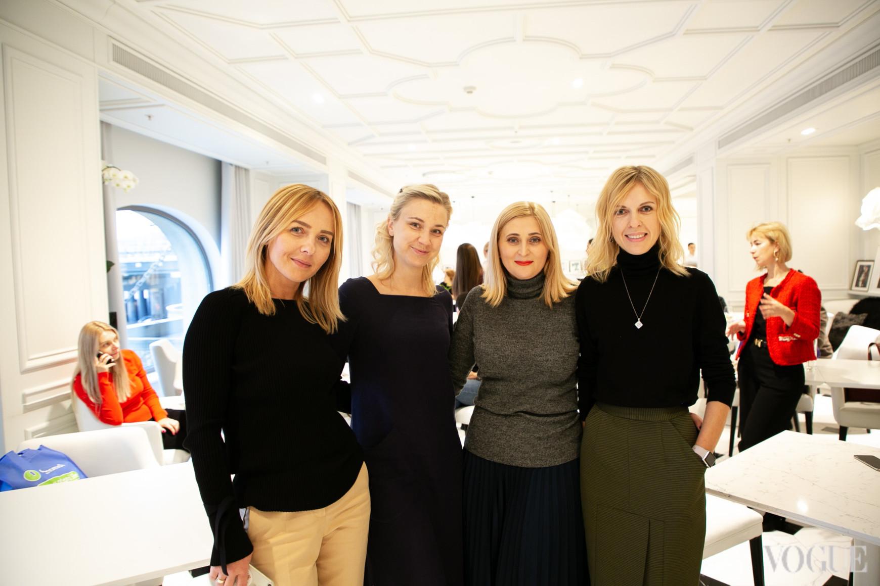 Наталья Бондарчук, Ольга Воронова, Вероника Антюфеева и Юлия Костецкая