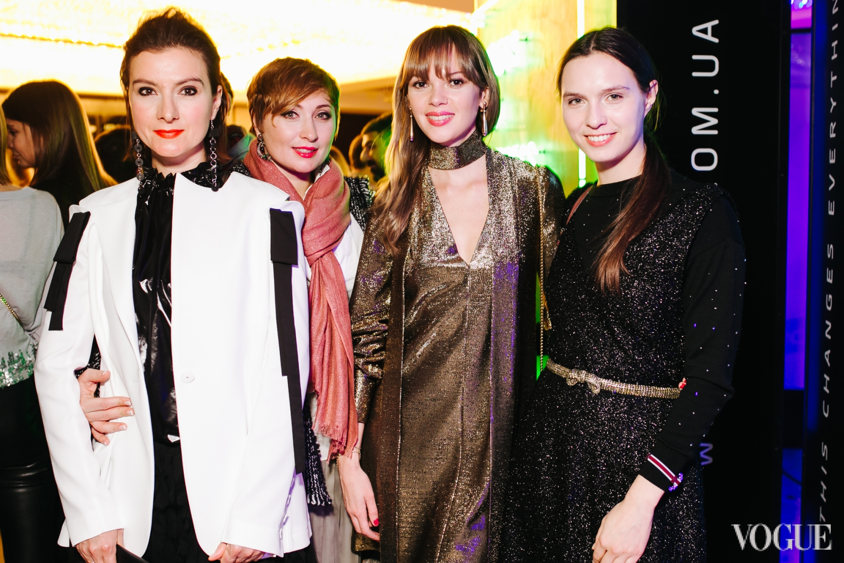 Елена Буренина, Виктория Тигипко, Анастасия Масюткина, Наталья Моденова
