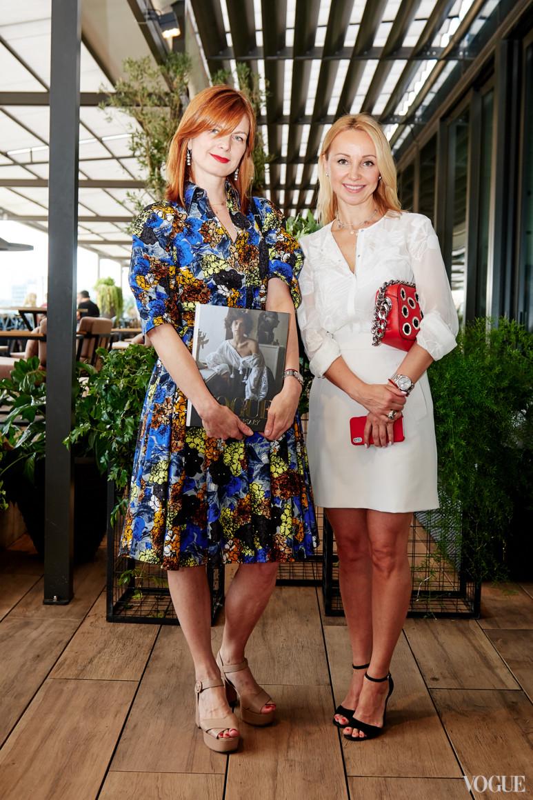 Екатерина Кулик (слева)