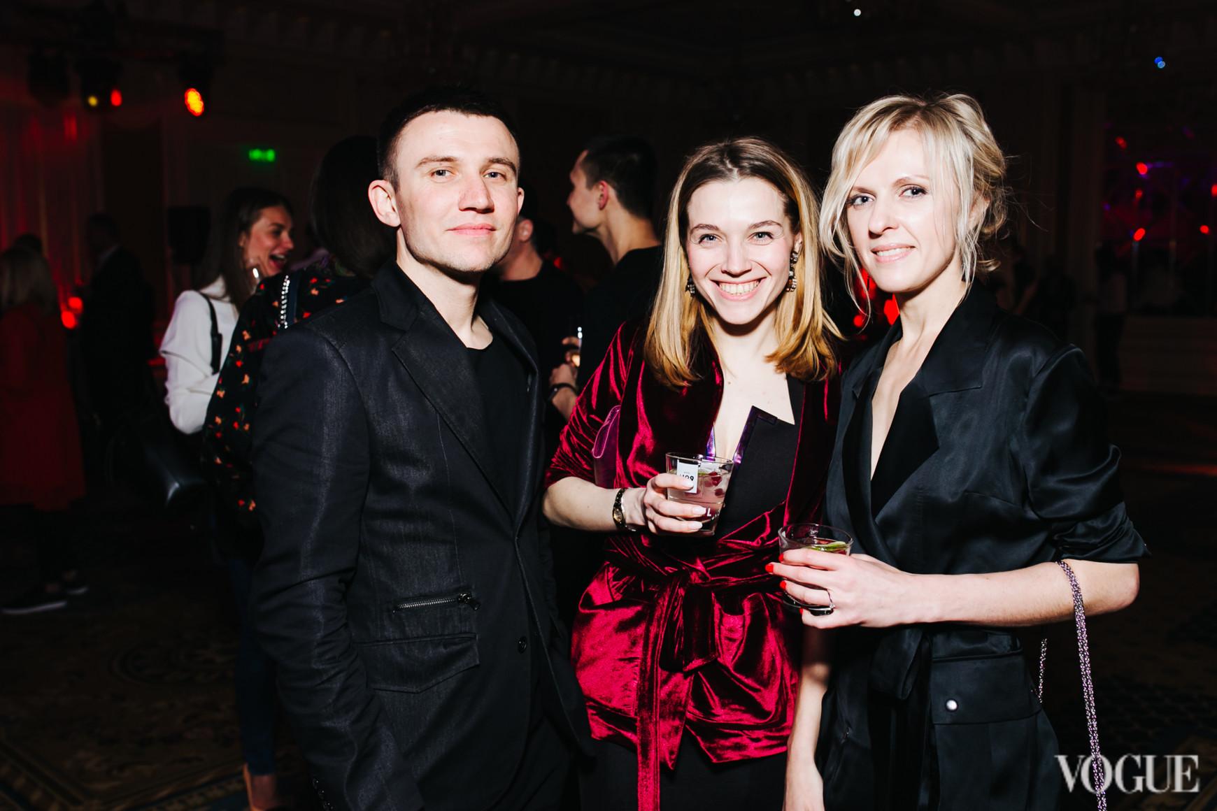 Александр Бреус, Ольга Ивакина и Юлия Костецкая