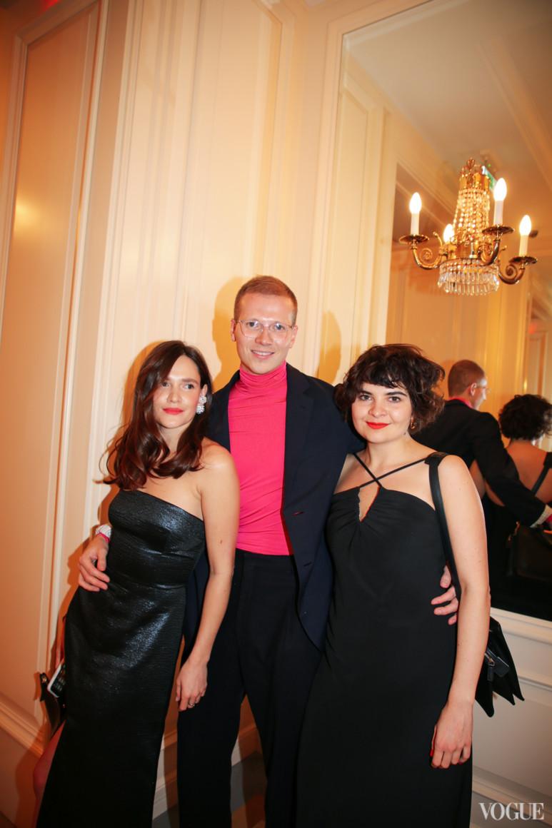 Соня Солтес, Веня Брыкалин и Маша Рева