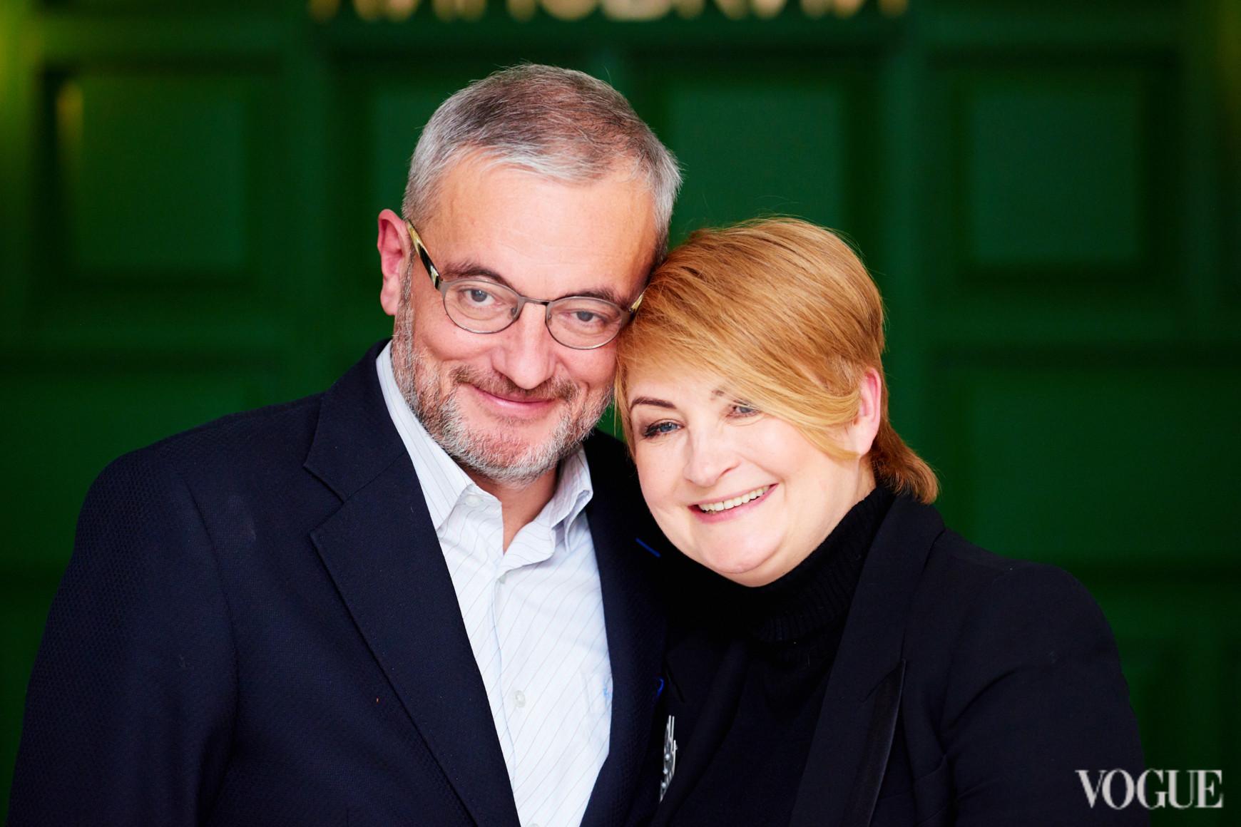 Владимир Нечипорук и Ирина Данилевская