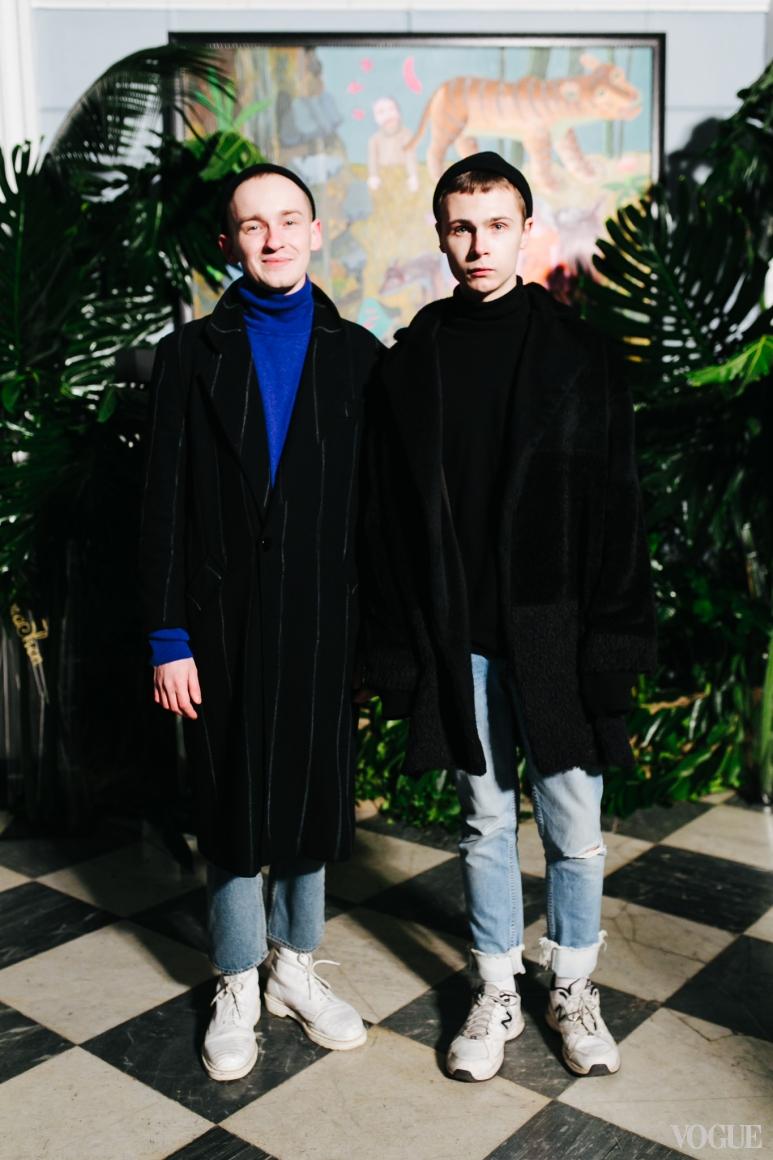 Антан Якшин и Дмитрий Чаюн