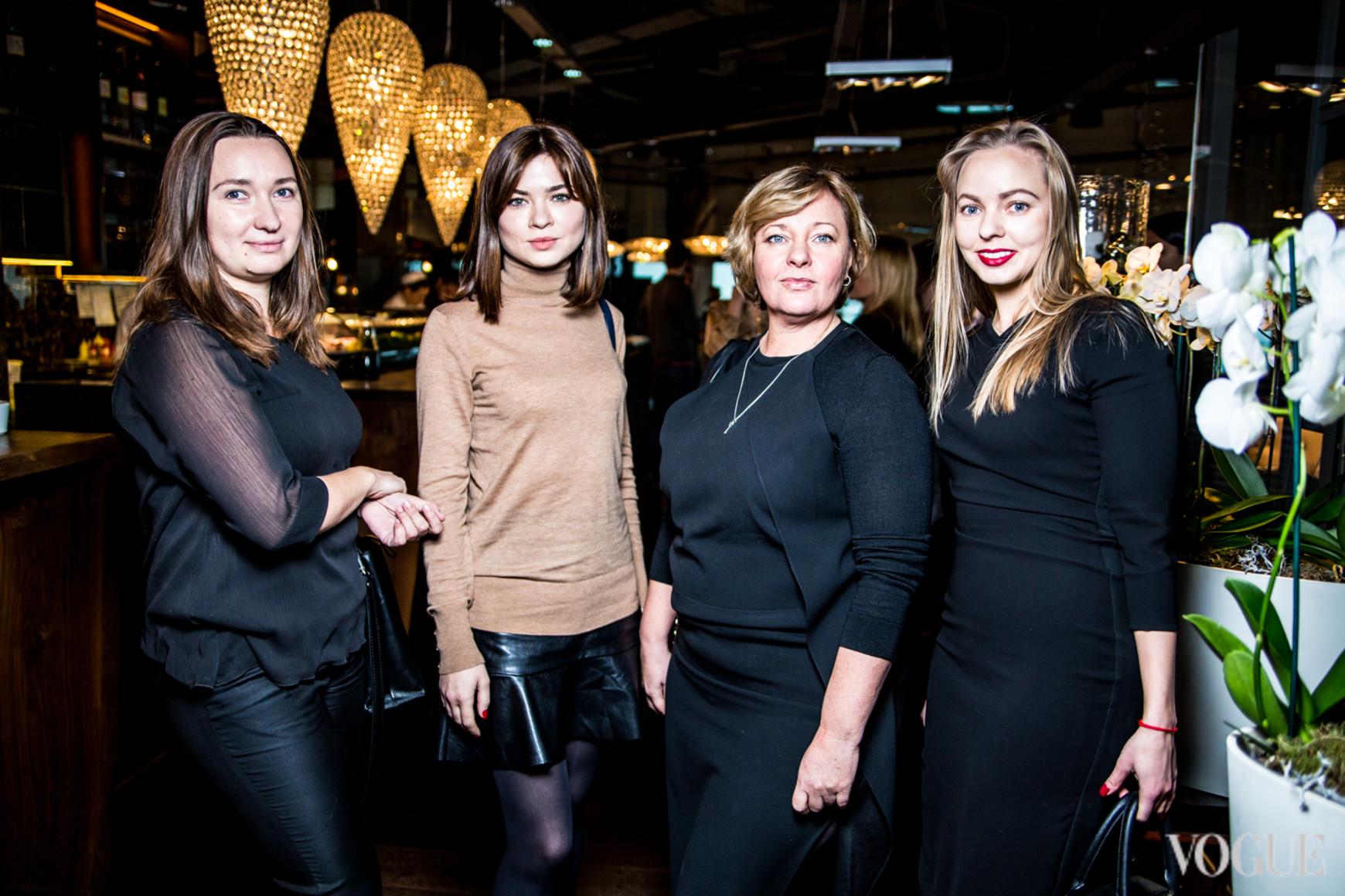 Тамара Лелеко, Катерина Демина, Ирина Малашенко, Наталья Лавринович