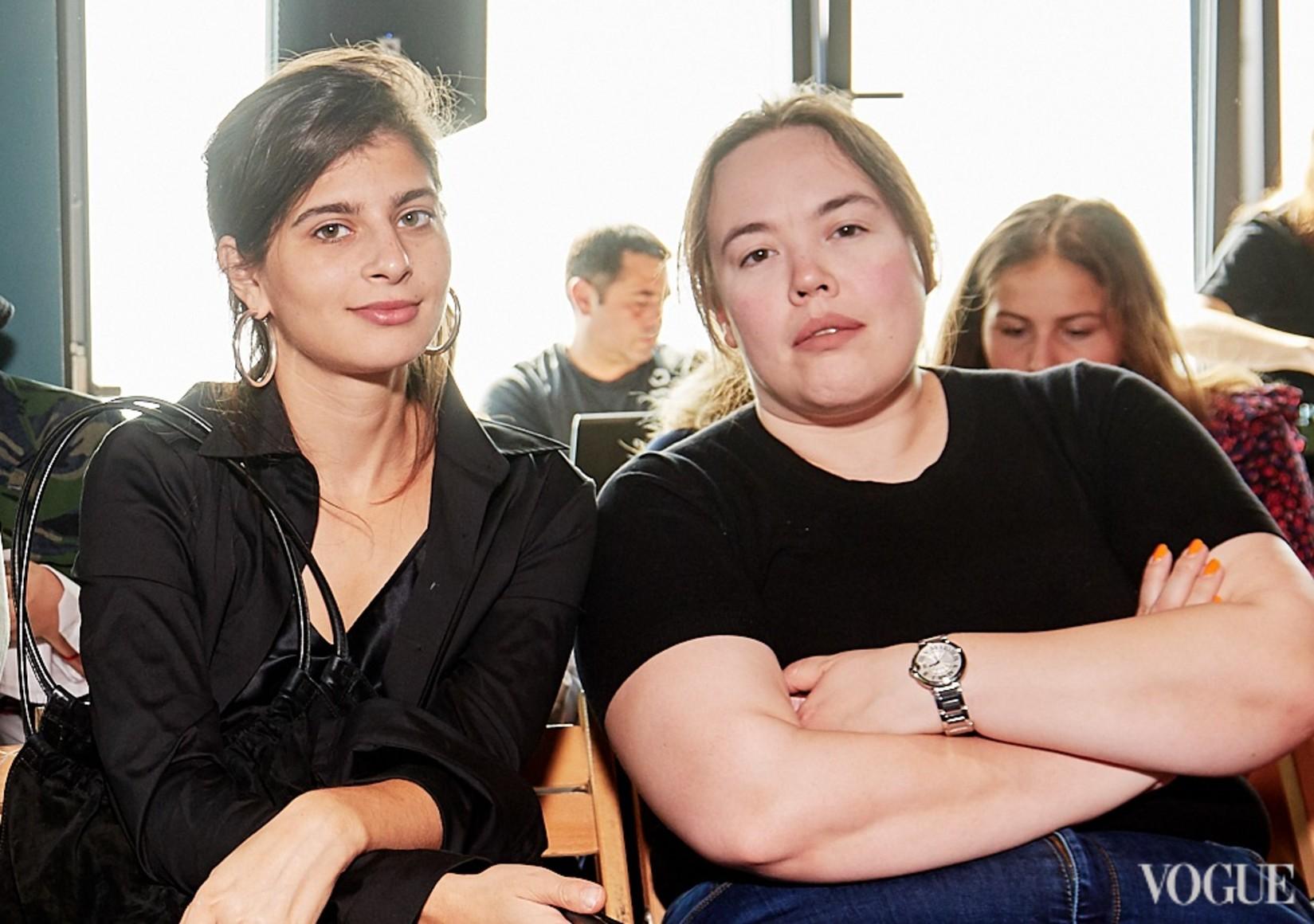 Лиана Сатенштайн и Лили Тэмплтон